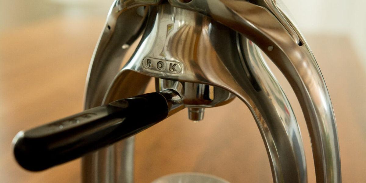 Die Kaffeemaschine mit «Manpower»